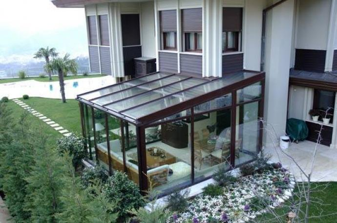 Progettazione arredamento giardini verde fontana s a s verde interno giardino d 39 inverno - Giardino d inverno permessi ...